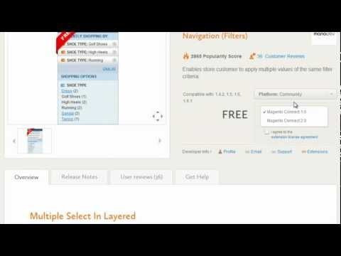 How to install an extension in Magento - Magento Video Tutorials from Opace