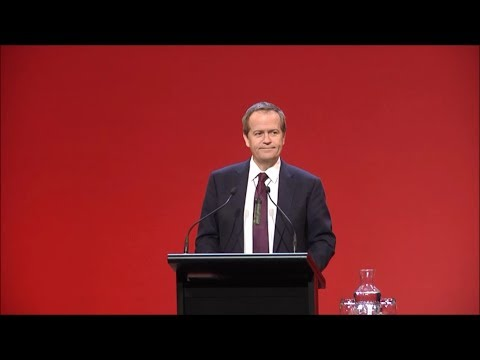 Bill Shorten's address to the 2014 New Zealand Labour Party Congress. Introduced by Clare Curran MP.