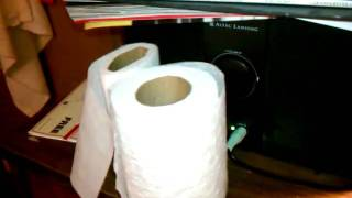 Toilet Paper Shock Wave Dancing