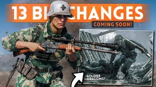 BATTLEFIELD 5: 13 *BIG* Changes & NEW FEATURES Coming Soon! (Soldier Dragging & Tactical Deploy)
