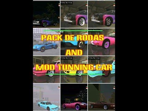 PACK DE RODAS & MOD TUNNING CAR