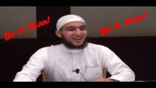 Be A Man! ┇FUNNY┇ Br. Abu Mussab Wajdi Akkari ┇Smile…itz Sunnah┇