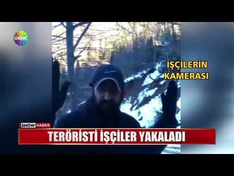 Teröristi işçiler yakaladı