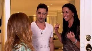 Sabrina visita a mansão de Zezé Di Camargo e Graciele