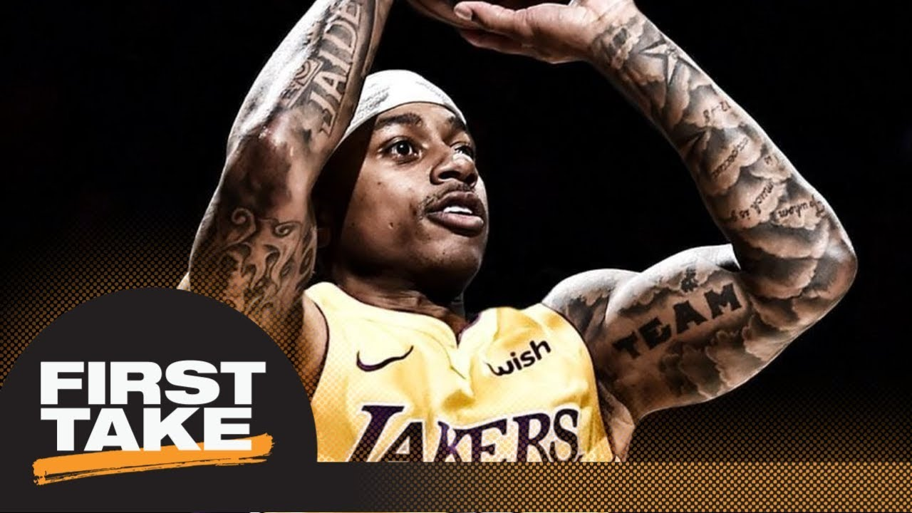 First Take debates if Isaiah Thomas deserved to be traded to Lakers | First Take | ESPN