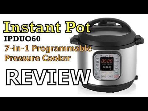 Instapot IPDUO60 Electric Pressure Cooker Review