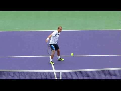 Olivier Rochus vs Novak Djokovic - Miami Sony Ericsson 2010 Video