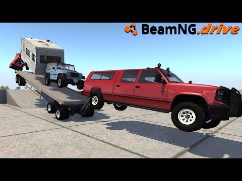 BeamNG.drive - MEGA TRAILER