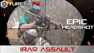 Magfed Paintball ► Iraq Assault EPIC HEADSHOT! | CQB | Cenário | Milsim  |Adrena Fernão Dias
