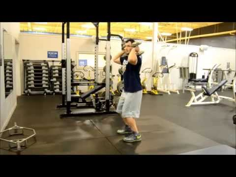 OXFORD COLLEGE BASKETBALL DUMBBELL JERK & SNATCH