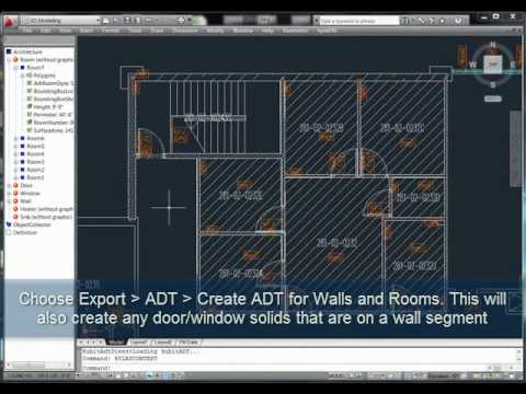 Streamlining from 2D to Revit Model