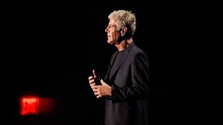 Food may not be the answer to world peace, but it's a start, says Anthony Bourdain