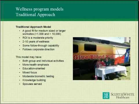Corporate Wellness Programs Case Study: Scott & White Healthcare Corporate Wellness