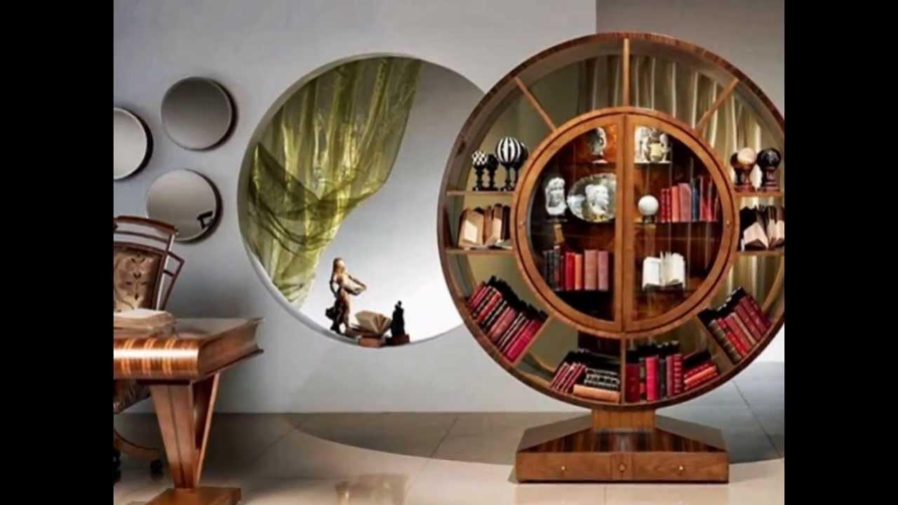 ausgefallenes b cherregal design von carpanelli als wohnung highlight youtube. Black Bedroom Furniture Sets. Home Design Ideas