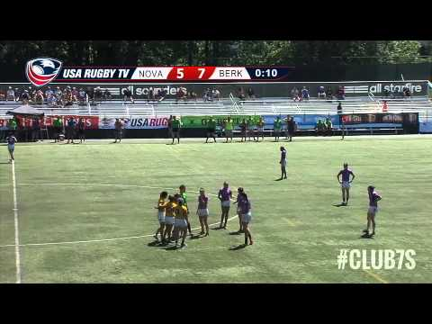2014 Club 7s - Northern Virgina Rugby vs. Berkeley All Blues