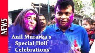 Latest Bollywood News - Pre Holi Celebration With Under Privileged Children - Bollywood Gossip 2016