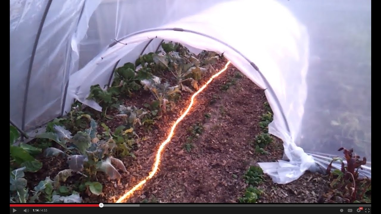 HOW TO BUILD A CHEAP GREEN HOUSE And HOOP Part 2