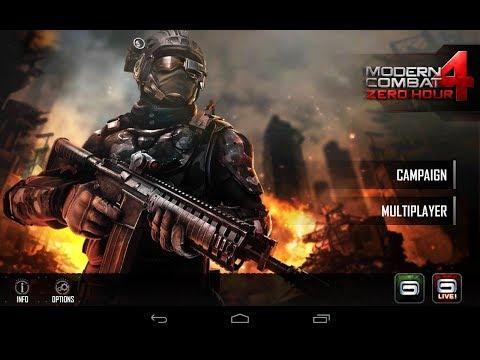 Modern Combat 4 Zero Hour - Jogão para smartphones Android - apk + data - Android Zone Blog