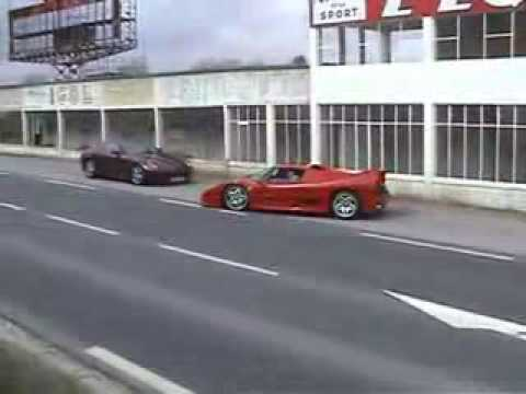 Sound of Ferrari - F50 F40 amazing sound
