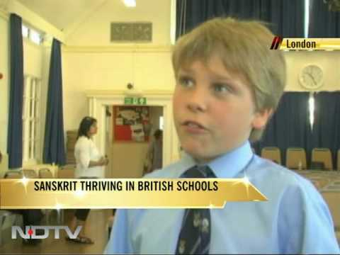 Sanskrit Thriving In British Schools video