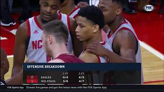 2019.02.20 Boston College Eagles at NC State Wolfpack Basketball