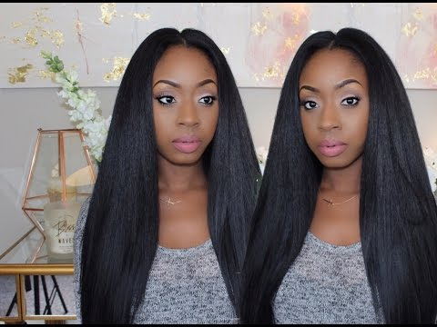 How To Make A Crochet Wig| DIY Straight Crochet Wig!!