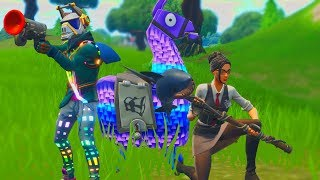 PROTECT THE LLAMA - Fortnite Mini Games