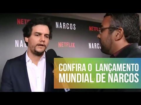 Confira o tapete vermelho do lançamento mundial de Narcos