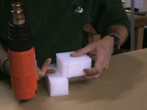 Heat Welding Polyethylene Foam