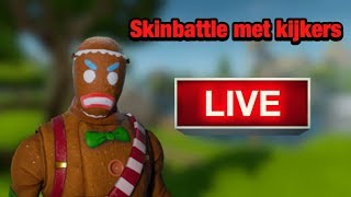 Live fortnite skinbattle met kijkers ( Nederlands) - jochen the gamer