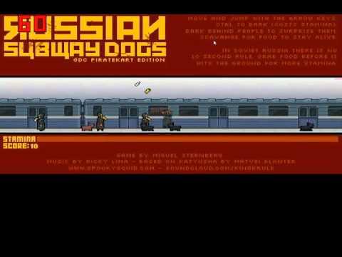 Симулятор московских собак в метроRussian subway dogs.