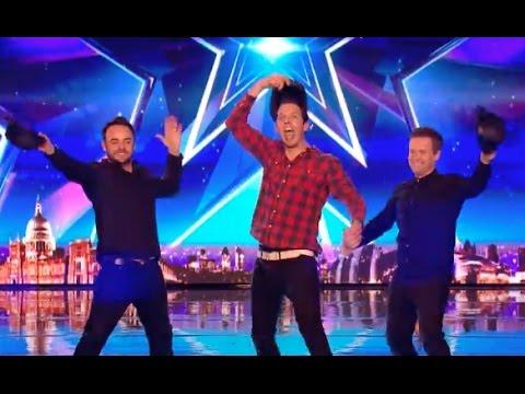 Jonny Awsum Be Himself! AWSUM!| Week 2 | Britain's Got Talent 2017