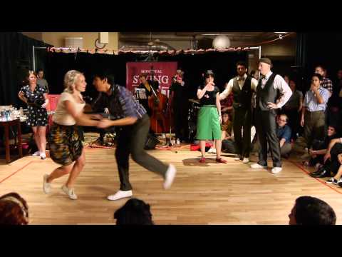 Montreal Swing Riot 2012 - Lindy Hop Battle Top 8 and Finals