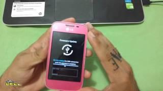 Revivendo qualquer LG com Android Brick Instalação de Rom
