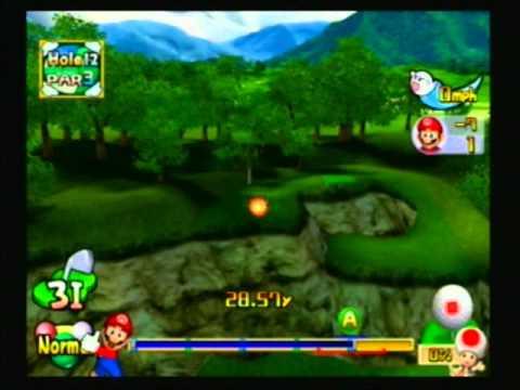 Mario Golf: Toadstool Tour - 2003 - Tournament: Lakitu Cup