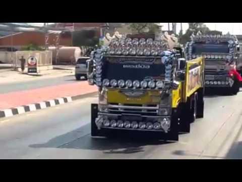 ขบวนรถบรรทุกแต่งสวยงาม งาน Western Motor Expo 2016