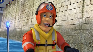 Fireman Sam New Episodes 2016 - Ocean Rescue! 🌊⚓ PART 2