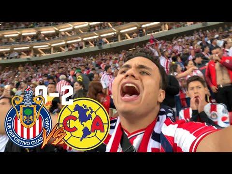 CHIVAS VS AMERICA 0-2 NOS DERROTAN DE NUEVO- clásico nacional estadio akron