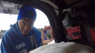 Trucking - Replacing Fuse