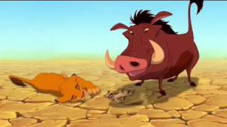 The Lion King Timon and Pumbaa