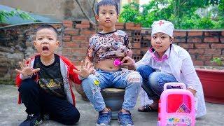 Trò Chơi Đại Ca Ra Đương Và Xả Rác Bừa Bãi - Bé Nhím TV - Đồ Chơi Trẻ Em Thiếu Nhi