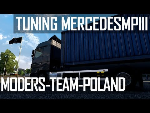 ETS2 - MB Actros MP3 Mega Mod and Tandem Mod by MTP