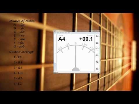 Звук первой струны гитары скачать