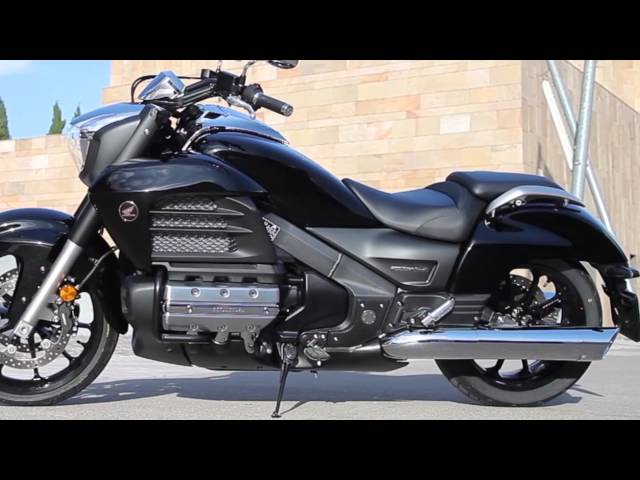 Vid�o Essai Honda F6C : La Goldwing version custom sportif