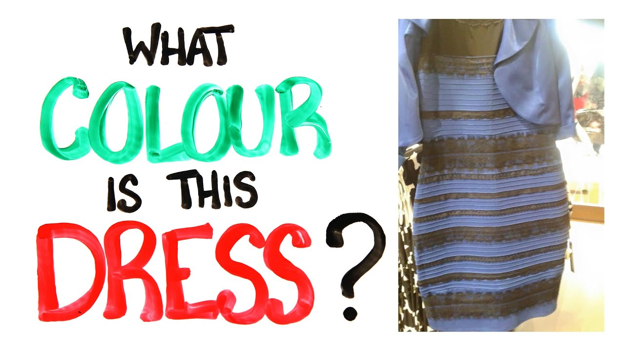 What colour is this dress solved with science youtube for What color do you like