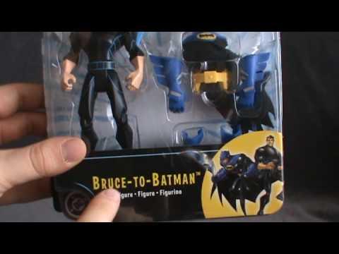 Toy Spot - Mattel The Batman Bruce to Batman Figure