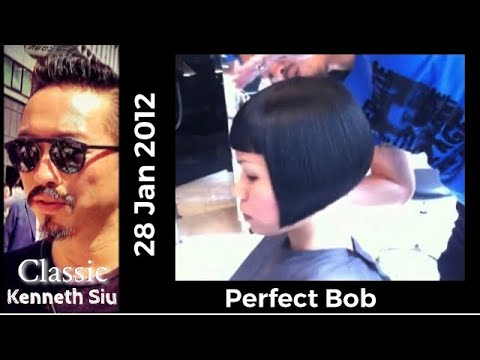 Perfect Bob Cut!! Kenneth Siu