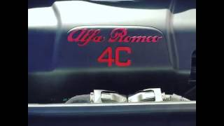 Alfa Romeo 4C Trunk and Engine