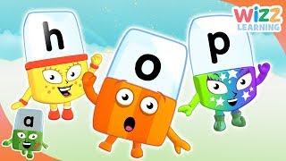 Phonics - Words for Beginners | Alphablocks | Learn to Read | Wizz Learning