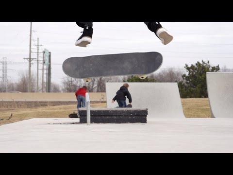 Skateology: Switch backside heelflip with Chase Jones